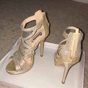 Shoes - Sweetie's Shoe Collections | Nude High Heel